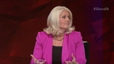 Karen Andrews on Q&A.