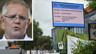 """Australian Prime Minister Scott Morrison has lashed the """"deeply disappointing"""" decision by Balinese authorities to allow a restaurant and night club to be built on the site of the Sari Club destroyed in the 2002 Bali bombings."""