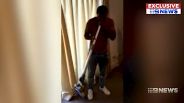 A second video has been leaked showing Kurtley Beale in a room where a suspicious-looking substance is passed around.