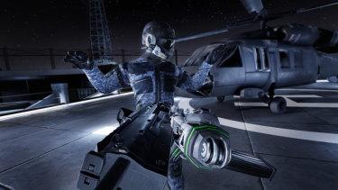 Espire-1 is a stealth espionage VR game.
