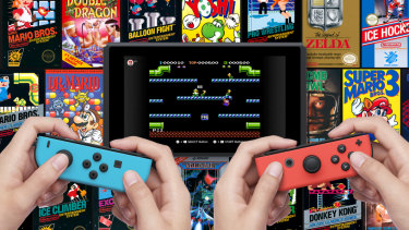 NES games look and play great on the Switch, and you can even take them online.