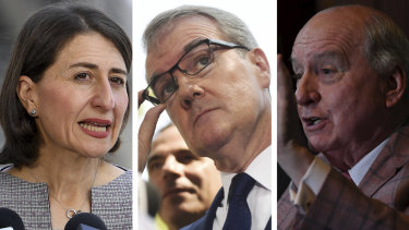 "Premier Gladys Berejiklian has labelled as ""hot-headed"" Michael Daley's intention to sack Alan Jones and other board members from the SCG Trust if Labor is elected."