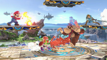 Nintendo is publishing new Pokemon and Mario Party games for its Switch console this season, but Smash Bros. Ultimate will also be a huge system seller.