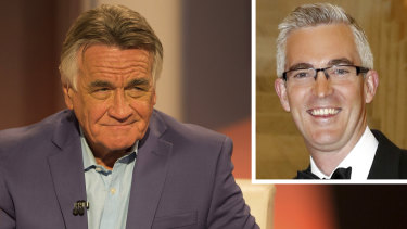 Sky News political editor David Speers, right, will replace Barrie Cassidy as host of ABC's Insiders.