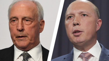 "Former prime minister Paul Keating says Home Affairs Minister Peter Dutton is the most ""mean-spirited"" person in Australian politics in 50 years."