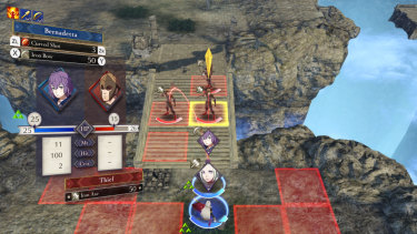 The grid-based battles have been made more readable and complex than ever in Three Houses.