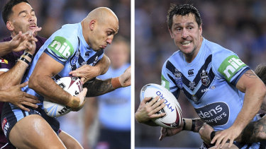 It was a night of redemption for Blake Ferguson and Mitchell Pearce on Wednesday's Origin decider.