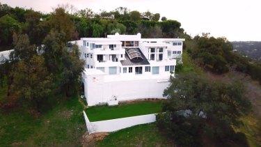 Susan Hannaford's extravagant Beverley Hills mansion.