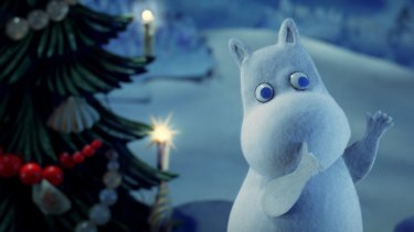 Moomins and the Winter Wonderland.