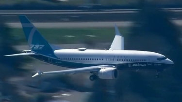 Boeing's troubled 737 MAX 8.