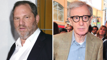 Harvey Weinstein and Woody Allen.