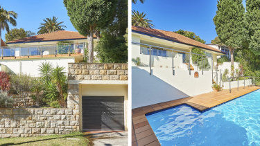Victor Spink's home at Olola Avenue, Vaucluse. Bought in 1993 for $600,000, it was sold in March for $4.9 million.