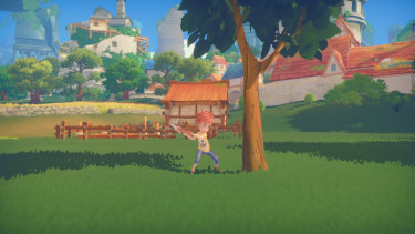 My Time at Portia starts simple, but it quickly becomes a very convoluted game.