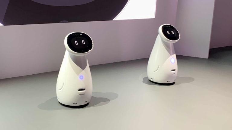 Samsung's Bot Care robots.