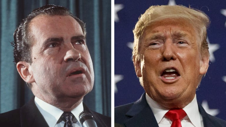If Trump fires the special counsel, he could face the same result Nixon did.
