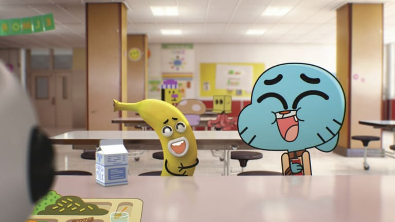 The Amazing World of Gumball, on Stan.