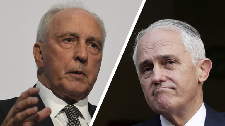 """""""Failed dismally"""": Former prime minister Paul Keating has attacked Malcolm Turnbull."""
