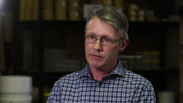 Peter McDonald, chairman of the Australian Honey Bee Industry Council.
