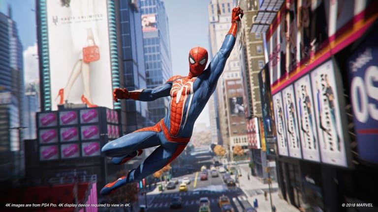 It can't be overstated how great it feels to swing around as Spider-Man.