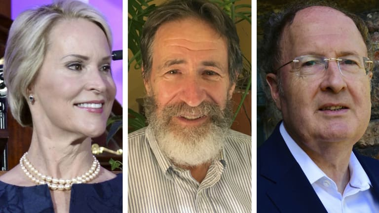 Winners: Frances H Arnold of the US, George P Smith of the US, and Gregory P Winter of Britain.