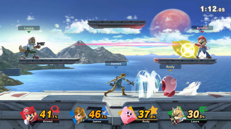 Adding more characters to a battle ups the intensity, but also helps level the playing field, as a cautious fighter can stay out of trouble and score on a weakened opponent with a single touch.