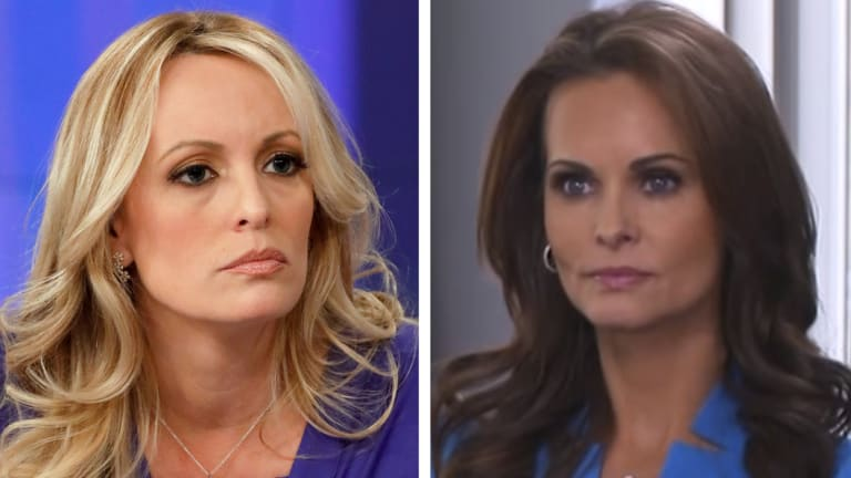 Stormy Daniels and Karen McDougal have each said they had sex with Donald Trump before he was President.