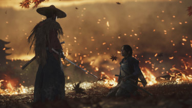 The slice of Ghost of Tsushima shown in the demo is all about the horrible things good people can do.