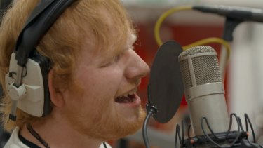 Sheeran pulls back the curtain on his hit-making process in Songwriter.