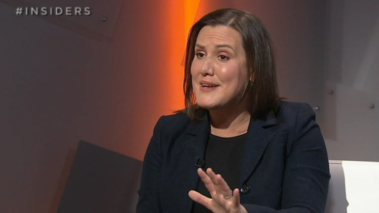 Revenue and Financial Services Minister Kelly O'Dwyer on Insiders recently