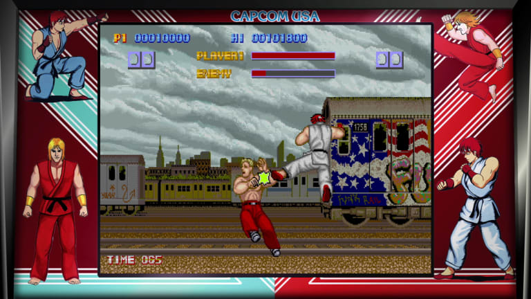 The original Street Fighter may be a trailblazer, but it's hard to go back to.