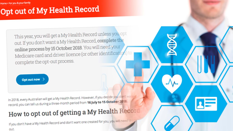 My Health Record was a big concern for many Australians.