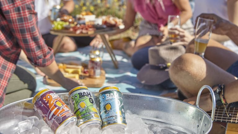 Sobah's range of alcohol-free beer is available locally at Hops & Vine in  Hall.