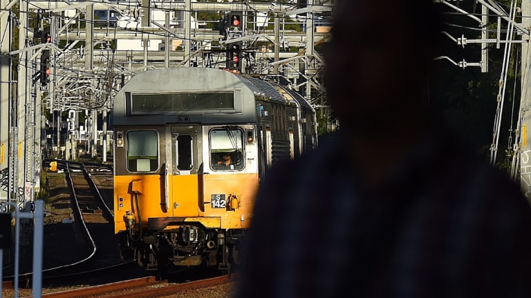 Sydney Trains' older fleet has been deemed to be in 'poor to unacceptable condition'.