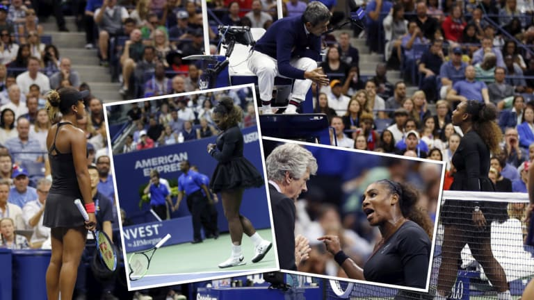 Spotlight: The Serena Williams controversy has polarised opinion.