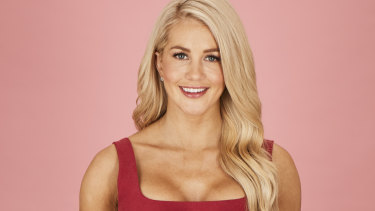 Ten's controversial new Bachelorette Ali Oetjen.