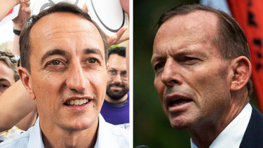 Liberal Party branch members and sitting MPs have privately urged Dave Sharma to oust Tony Abbott from Parliament.