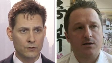 Detained in China: Canadian nationals Michael Kovrig and Michael Spavor.
