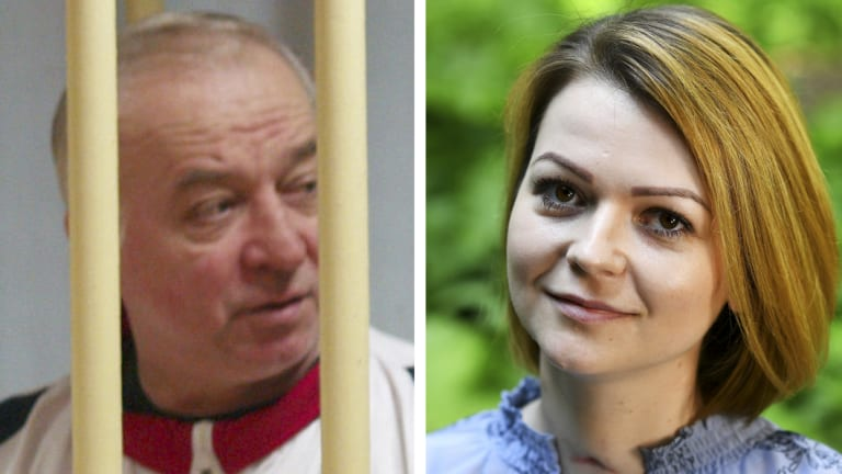 Sergei Skripal (left), pictured in 2006, and his daughter Yulia Skripal after her recovery from the nerve agent poisoning.