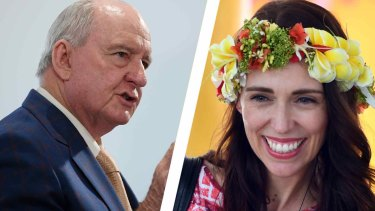 Alan Jones has publicly apologised for his remarks to New Zealand Prime Minister Jacinda Ardern.
