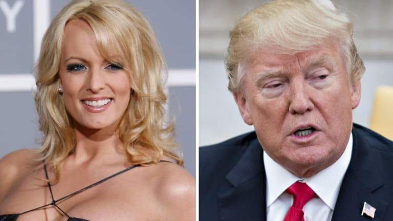 Stormy Daniels was paid $US130,000 by one of Trump's lawyers to stop talking about an alleged affair.
