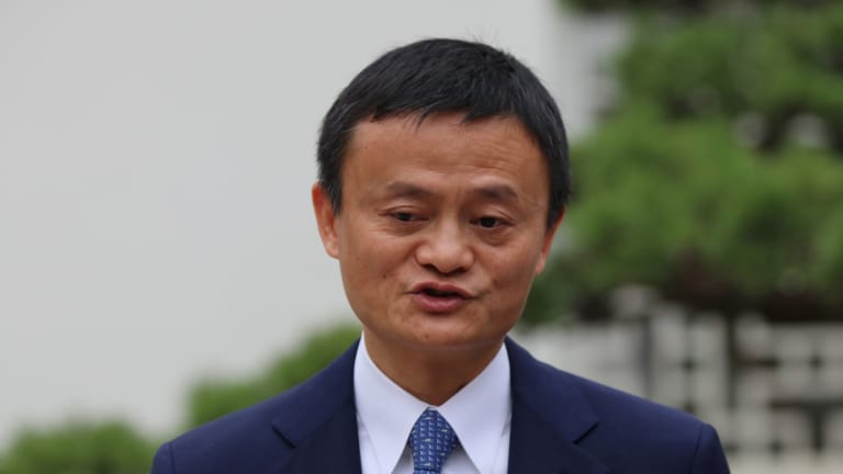 China's richest man Jack Ma is unimpressed with Trump's trade war.