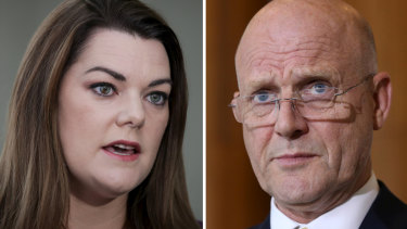 Sarah Hanson-Young launched defamation action against David Leyonhjelm earlier this year.
