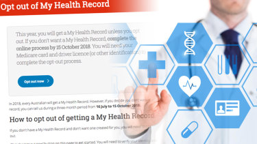 As of September 12, roughly 900,000 people had opted out of My Health Record.