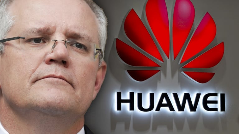 Scott Morrison has banned Huawei and ZTE from participating in the building of the 5G mobile network.