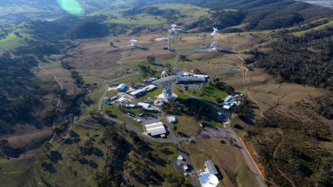 The Deep Space Communication Complex in Canberra.