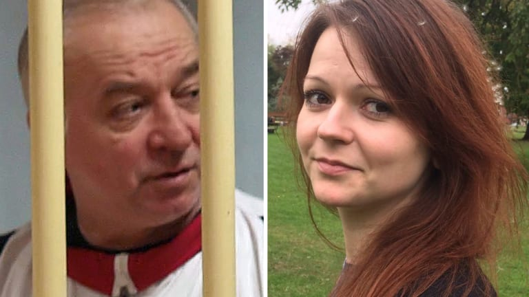 Poisoned: Russian ex-spy Sergei Skripa, 66, and his daughter Yulia Skripal, 33.