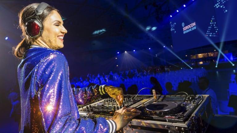 """Xero describes Xerocon as """"Coachella for accountants"""" complete with DJ sets."""