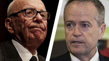 Labor is at war with News Corp over campaign coverage that included an attack on Bill Shorten and his mother.