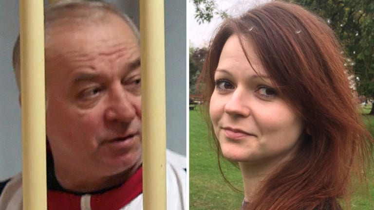 Russian ex-spy Sergei Skripal and his daughter Yulia.