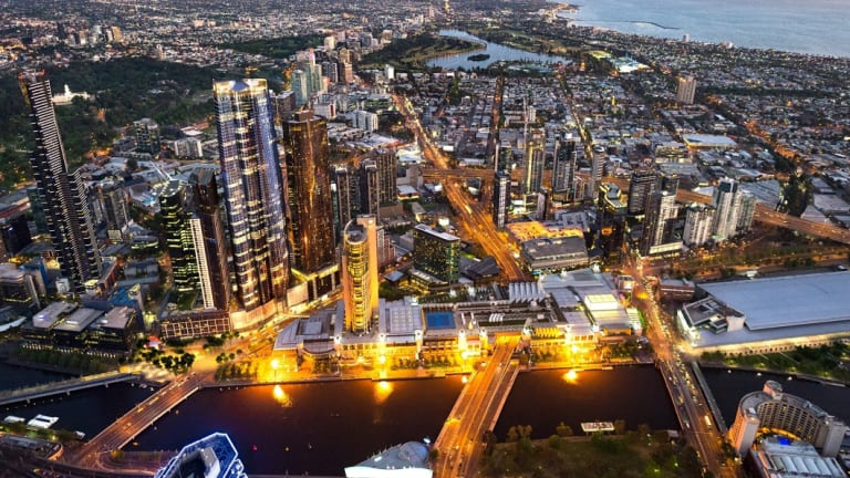 Aim for the sky: James Packer wants to build Australia's tallest building, linked to Crown Casino in Melbourne.